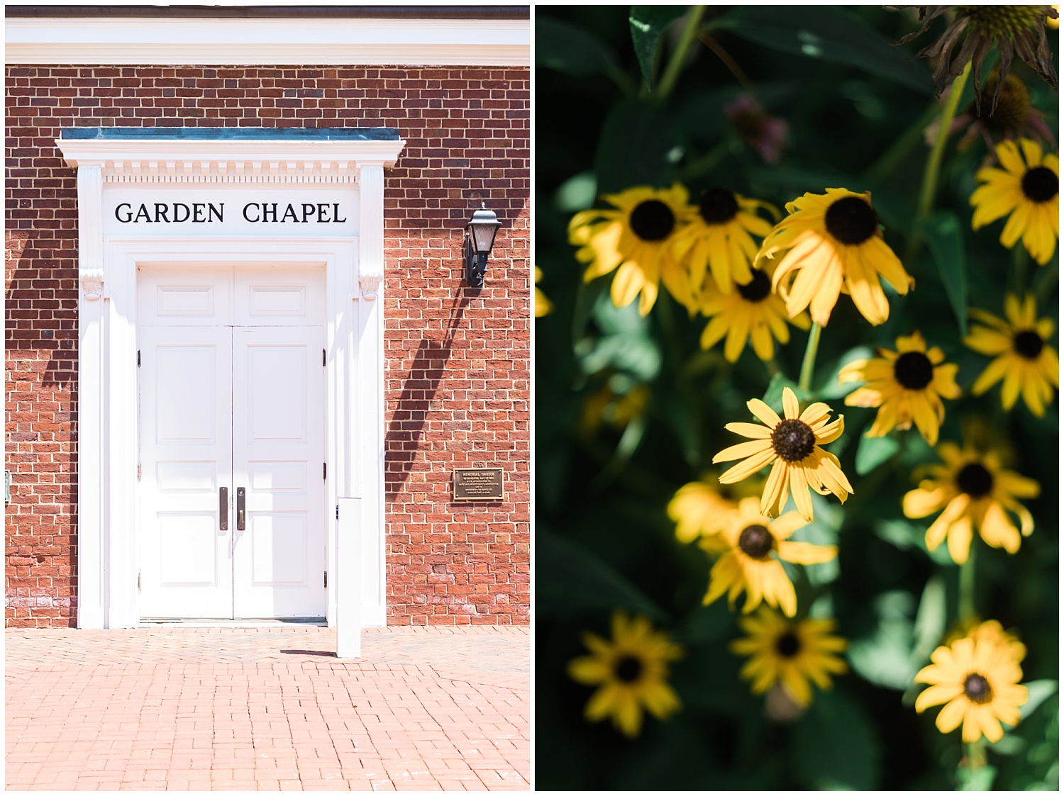 university of maryland garden chapel and china garden wedding photography