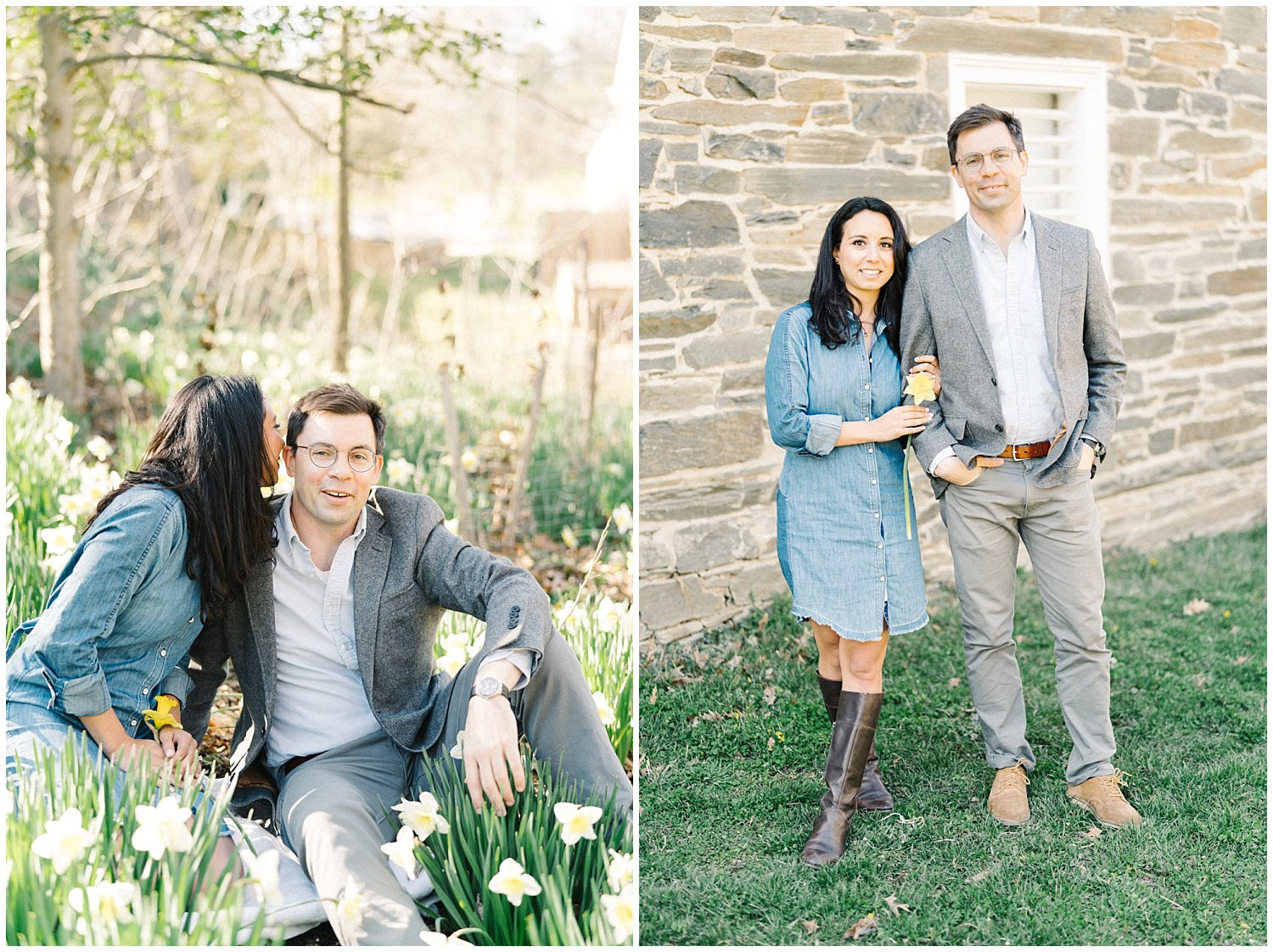 Kreeger Museum and Peirce Mill DC Engagement Session