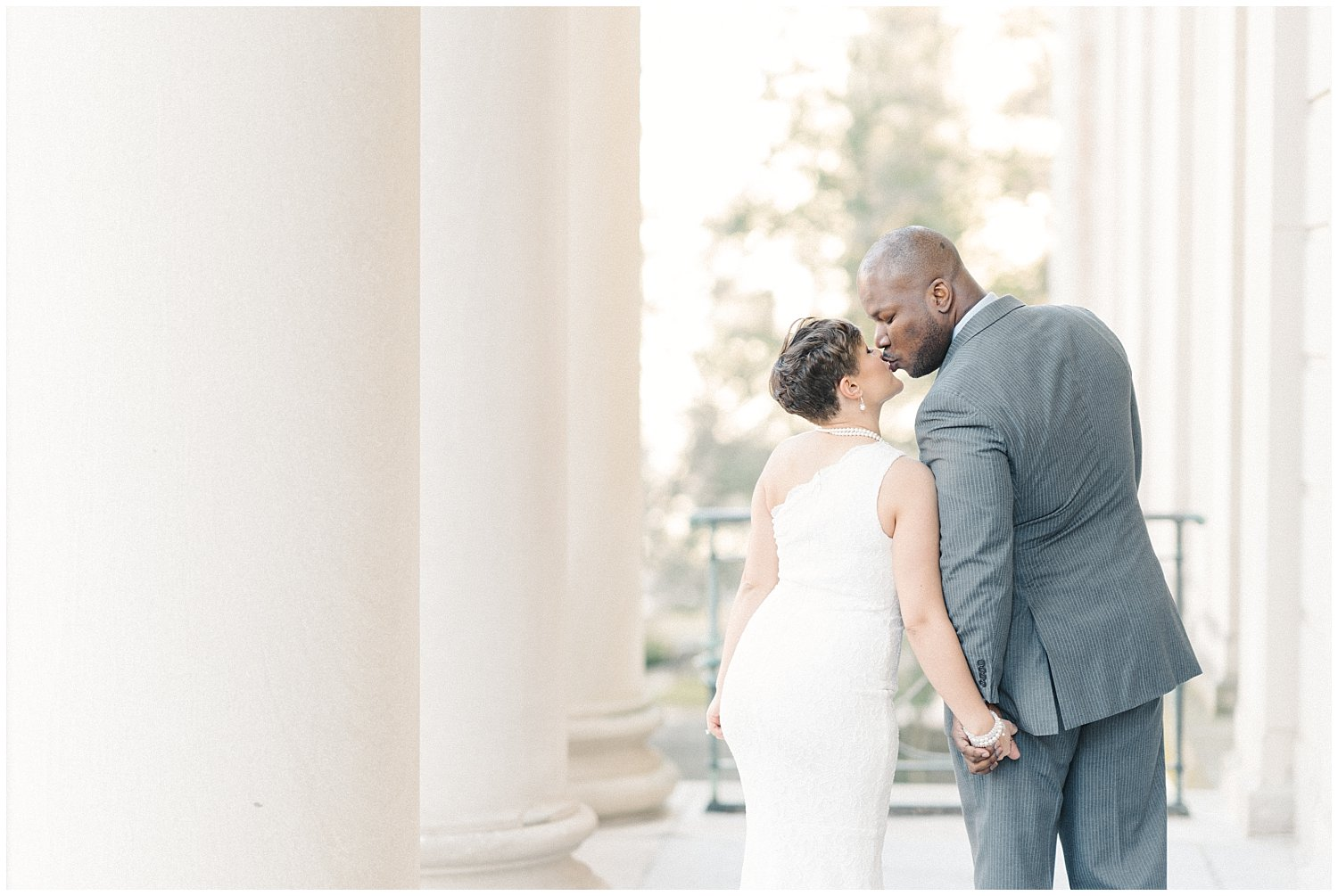 Rockville MD Courthouse Elopement Photography
