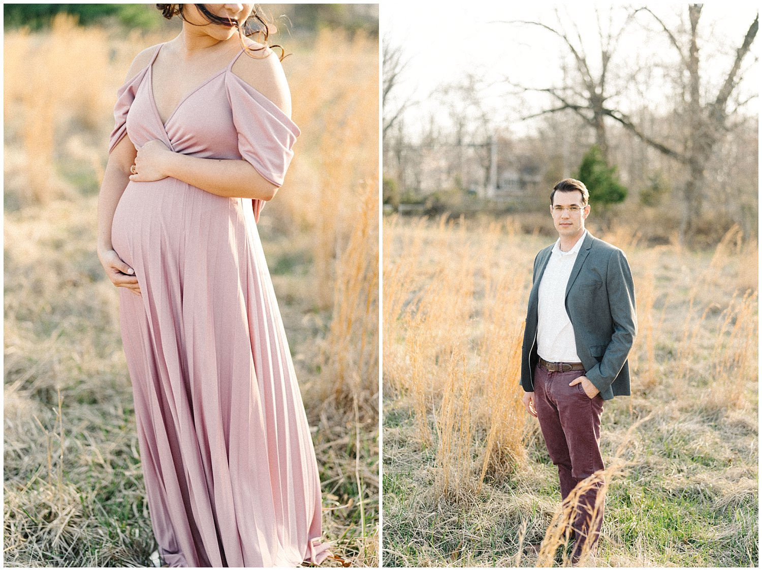 Interracial Family Photography- Howard County Maternity Session