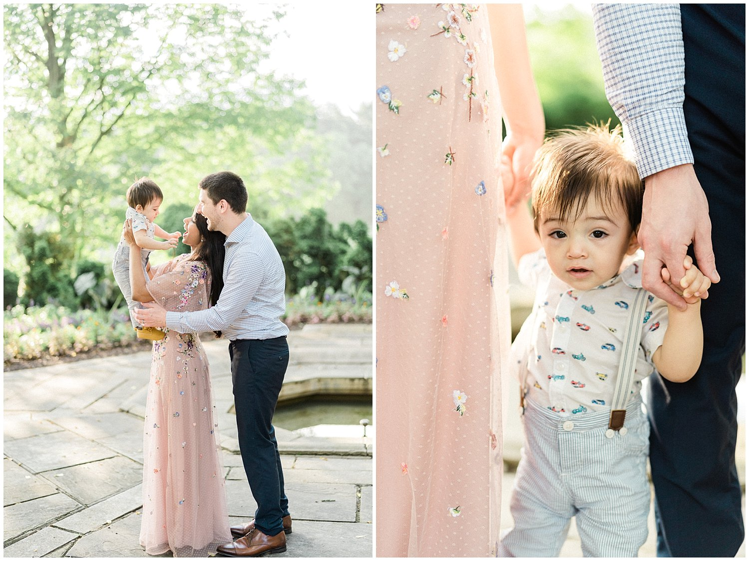 Glenview Mansion at Rockville Civic Center family session by Winnie Dora Photography