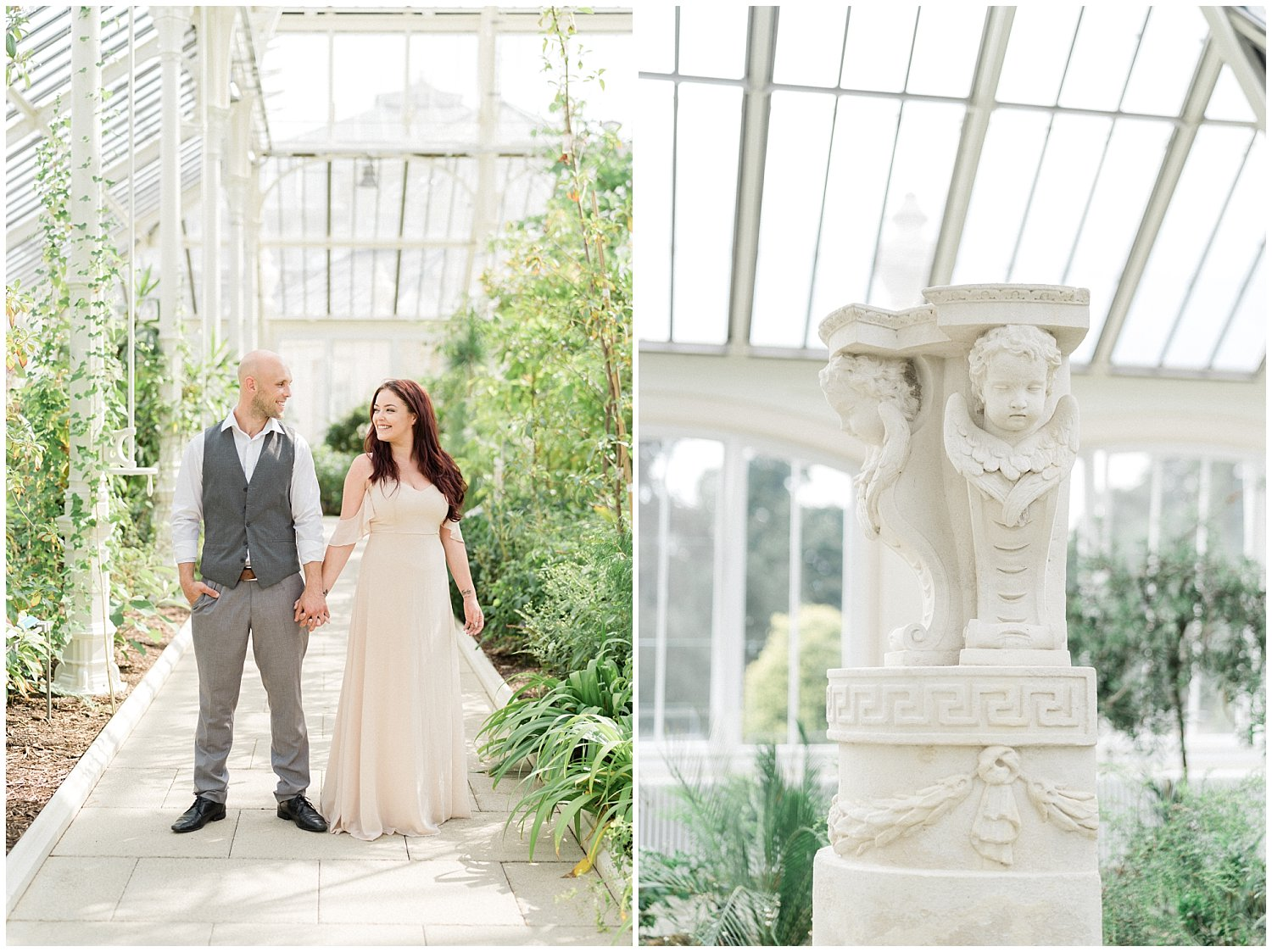 Royal Botanic Gardens Kew Engagement Session- London and Destination Wedding Photographer by WInnie Dora Photography