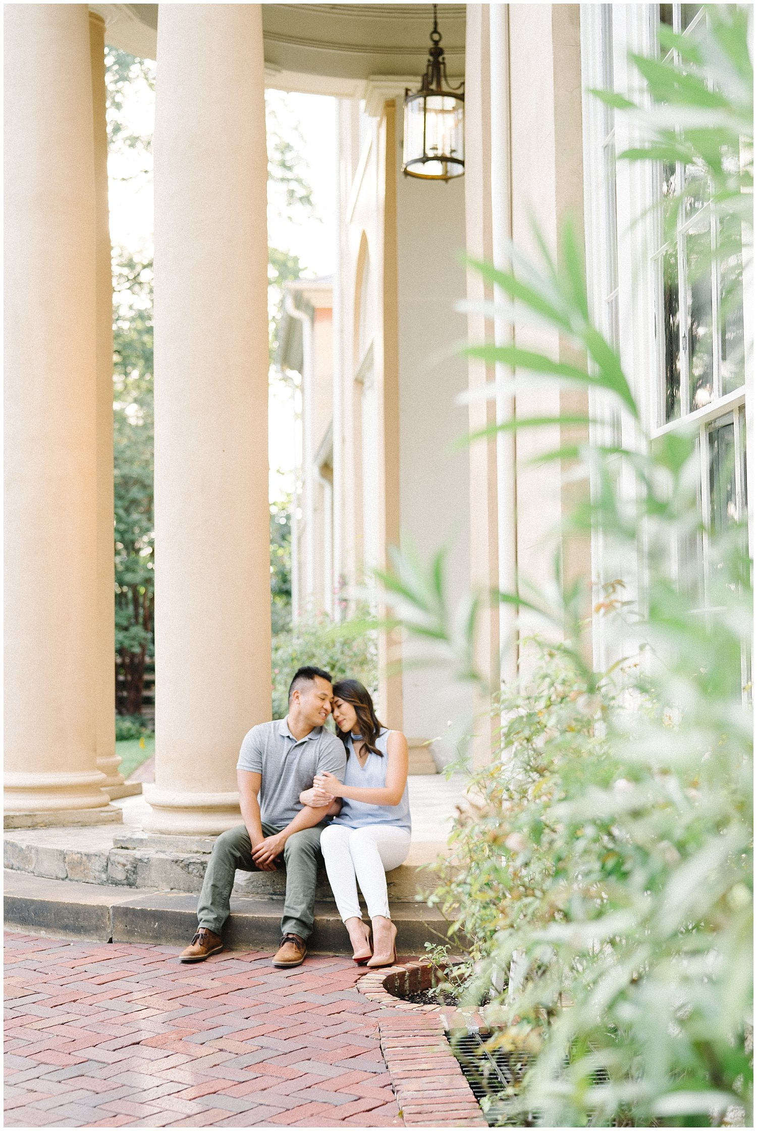 Tudor House DC Georgetown Engagement Session