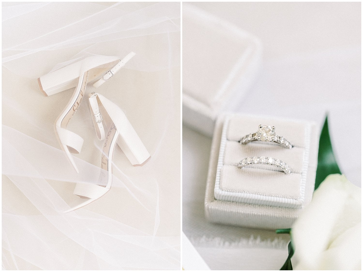 Bride's accessories for DAR Constitution Hall Wedding