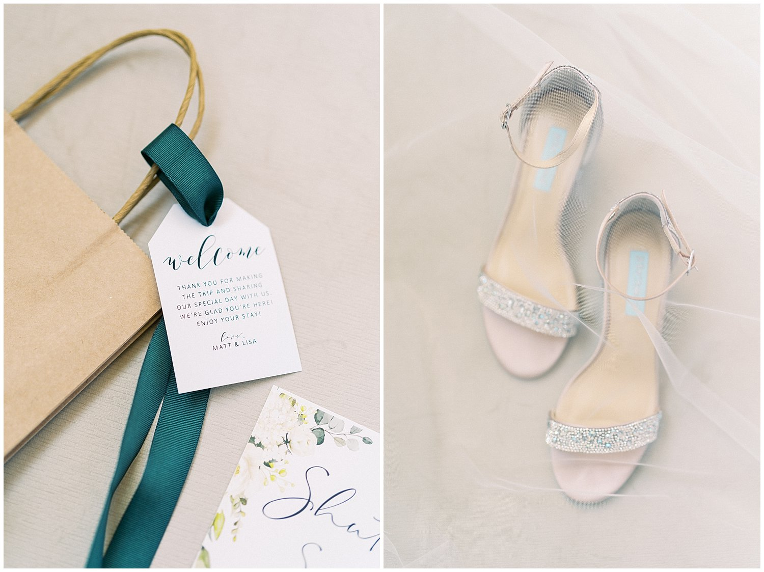 Hunter green wedding details- Baltimore wedding photographer