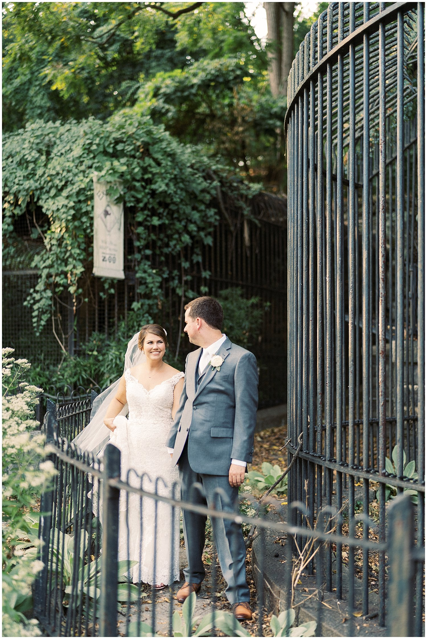 Baltimore zoo wedding photographer