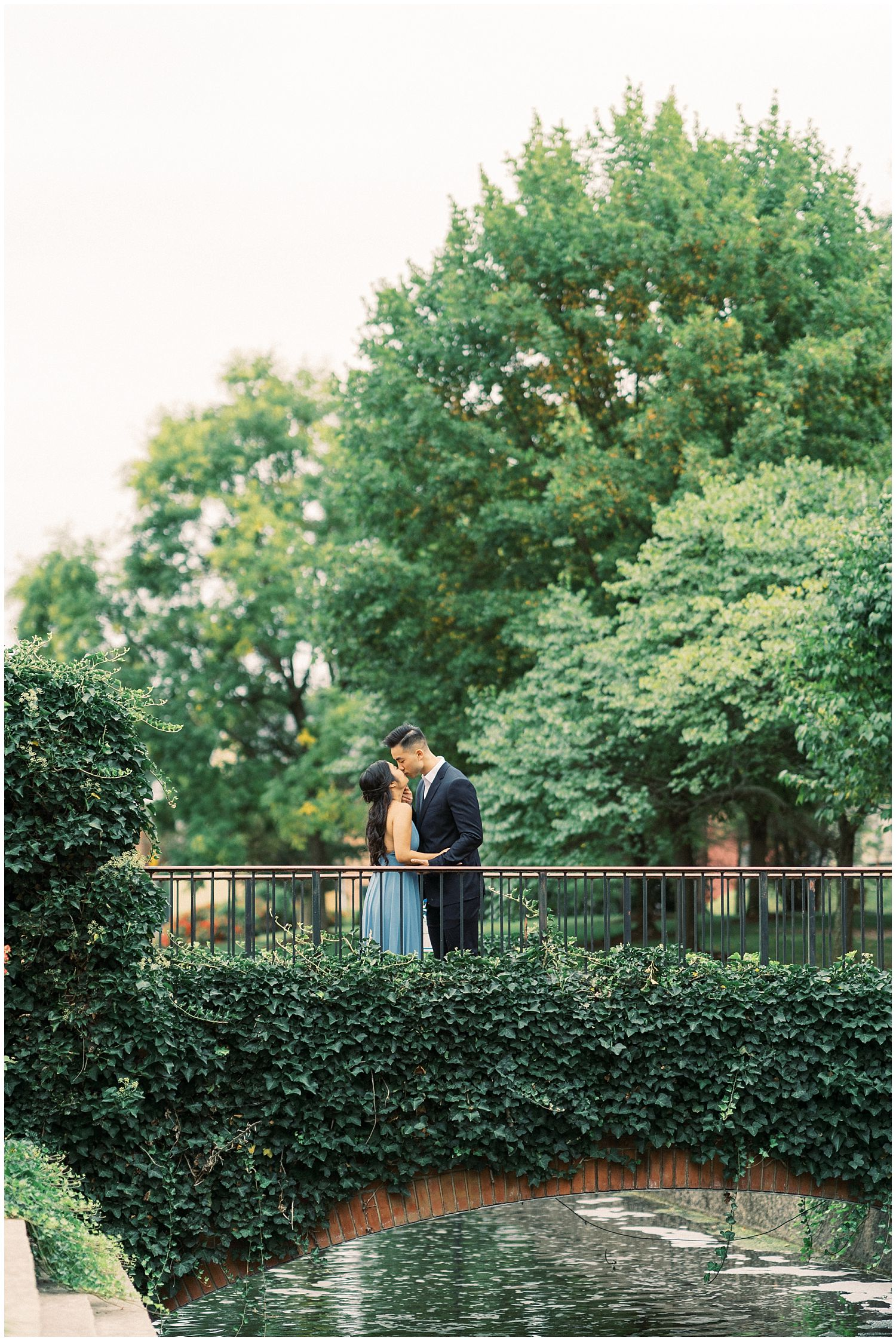 Downtown Frederick engagement session