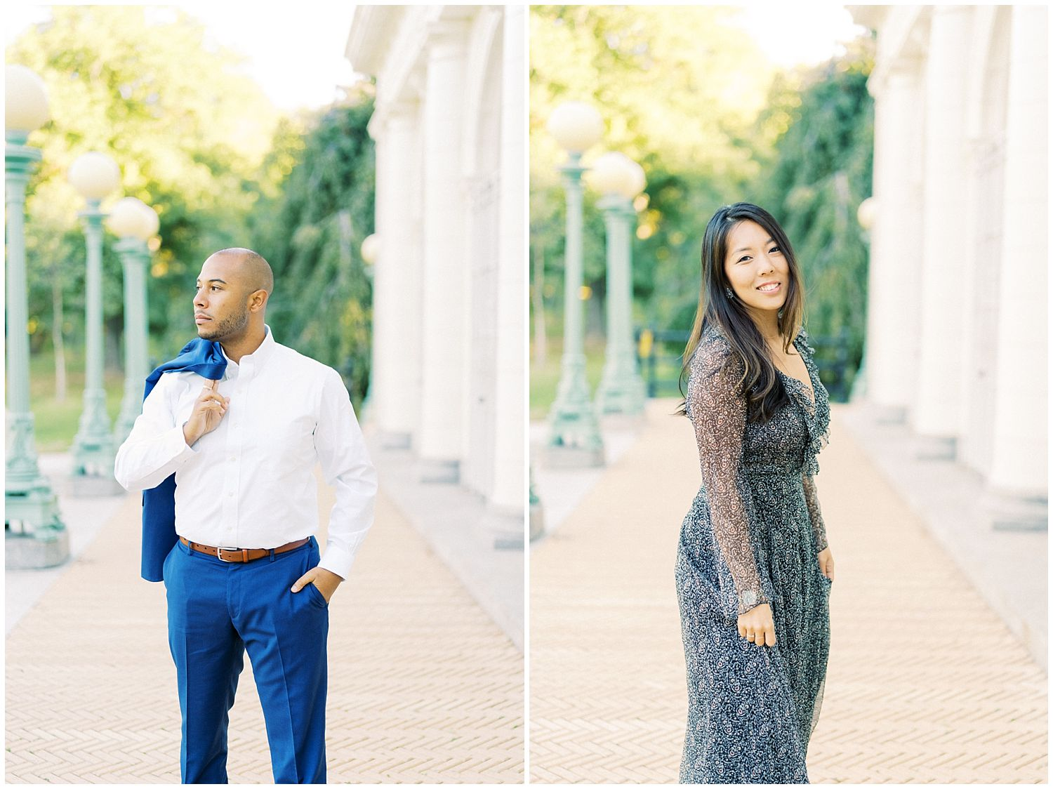 Prospect Park Brooklyn NY engagement session