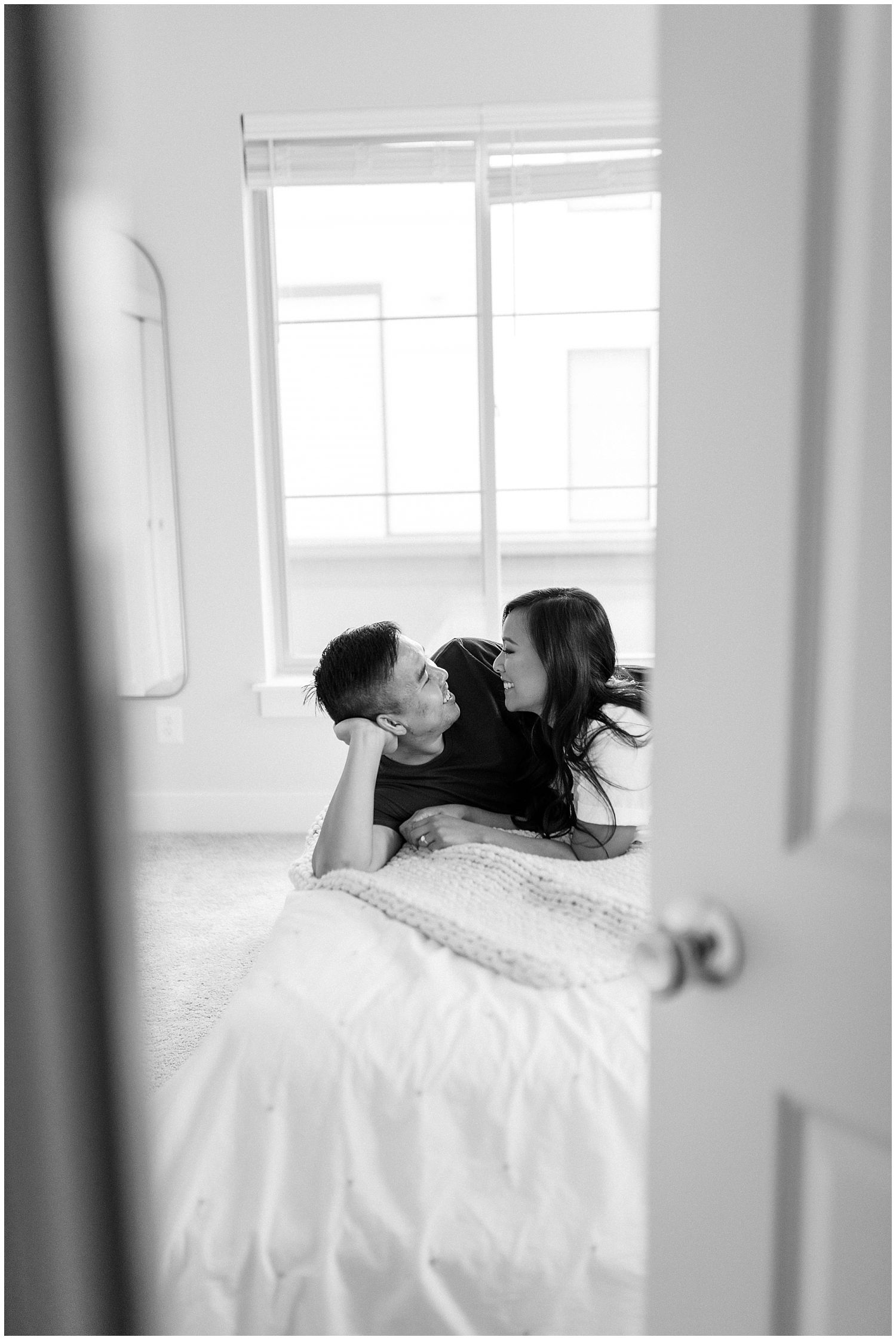 Northern Virginia indoor engagement photography