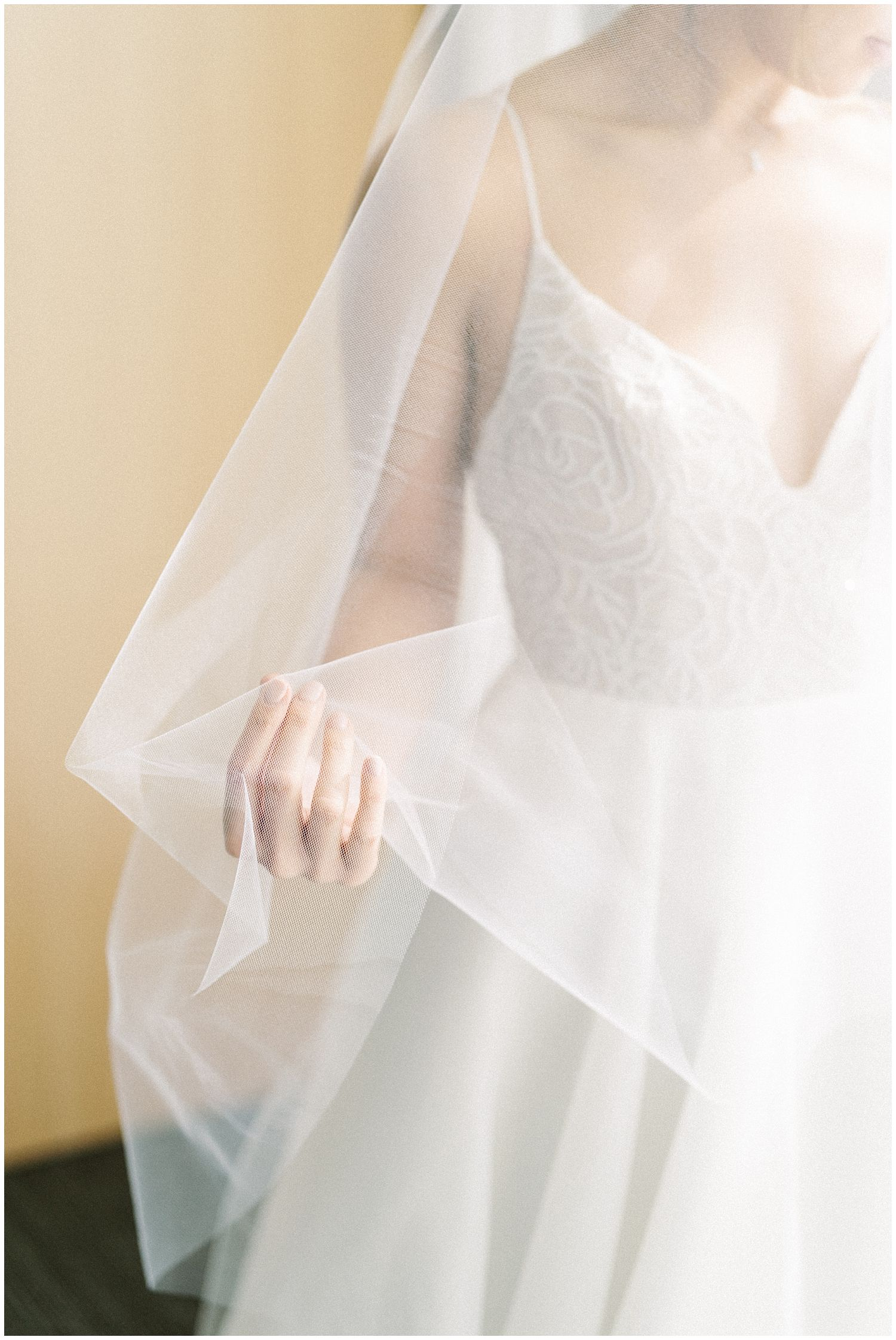 Bridal Gown at Meridan House Wedding in Washington DC