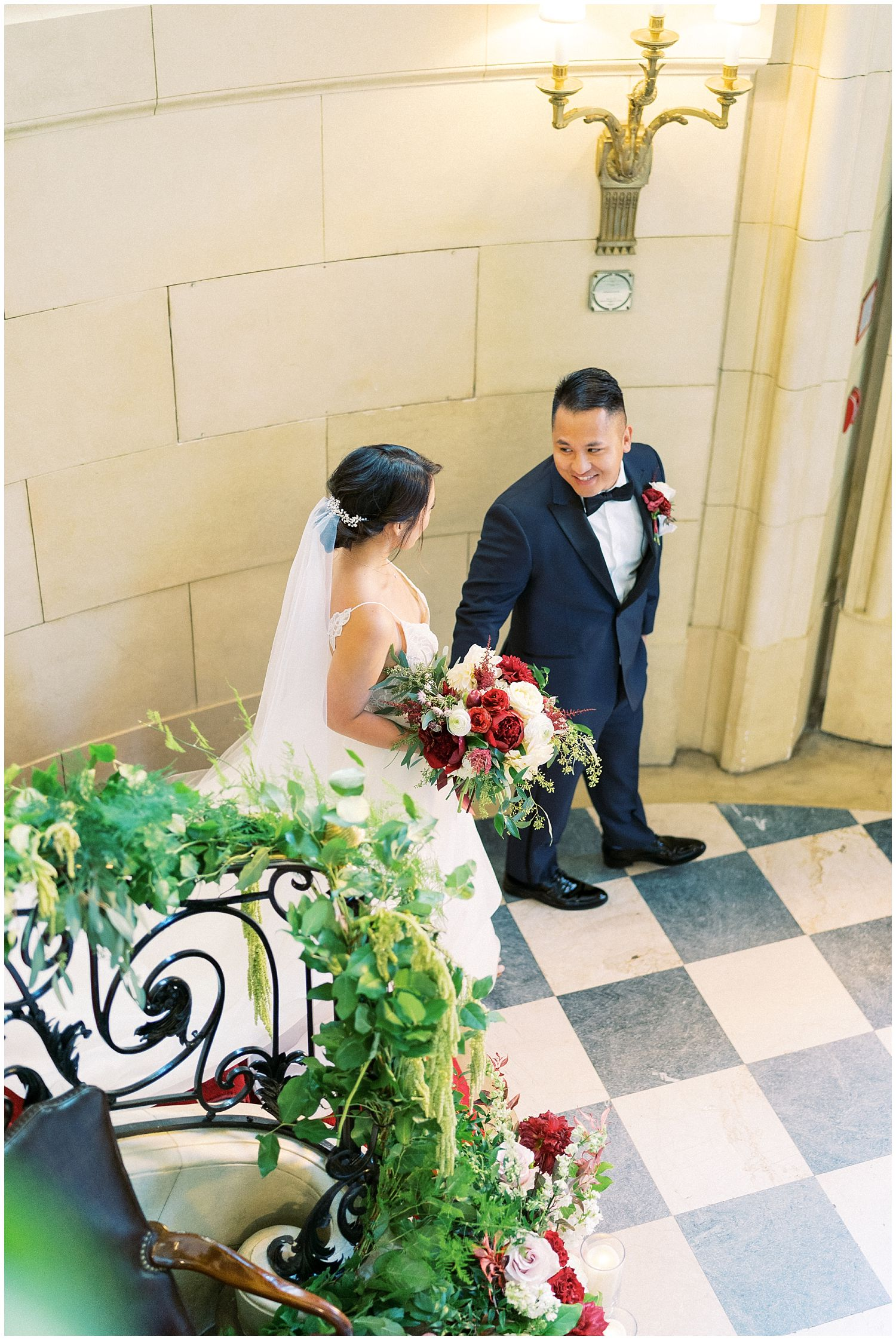 Meridian House DC wedding photographer