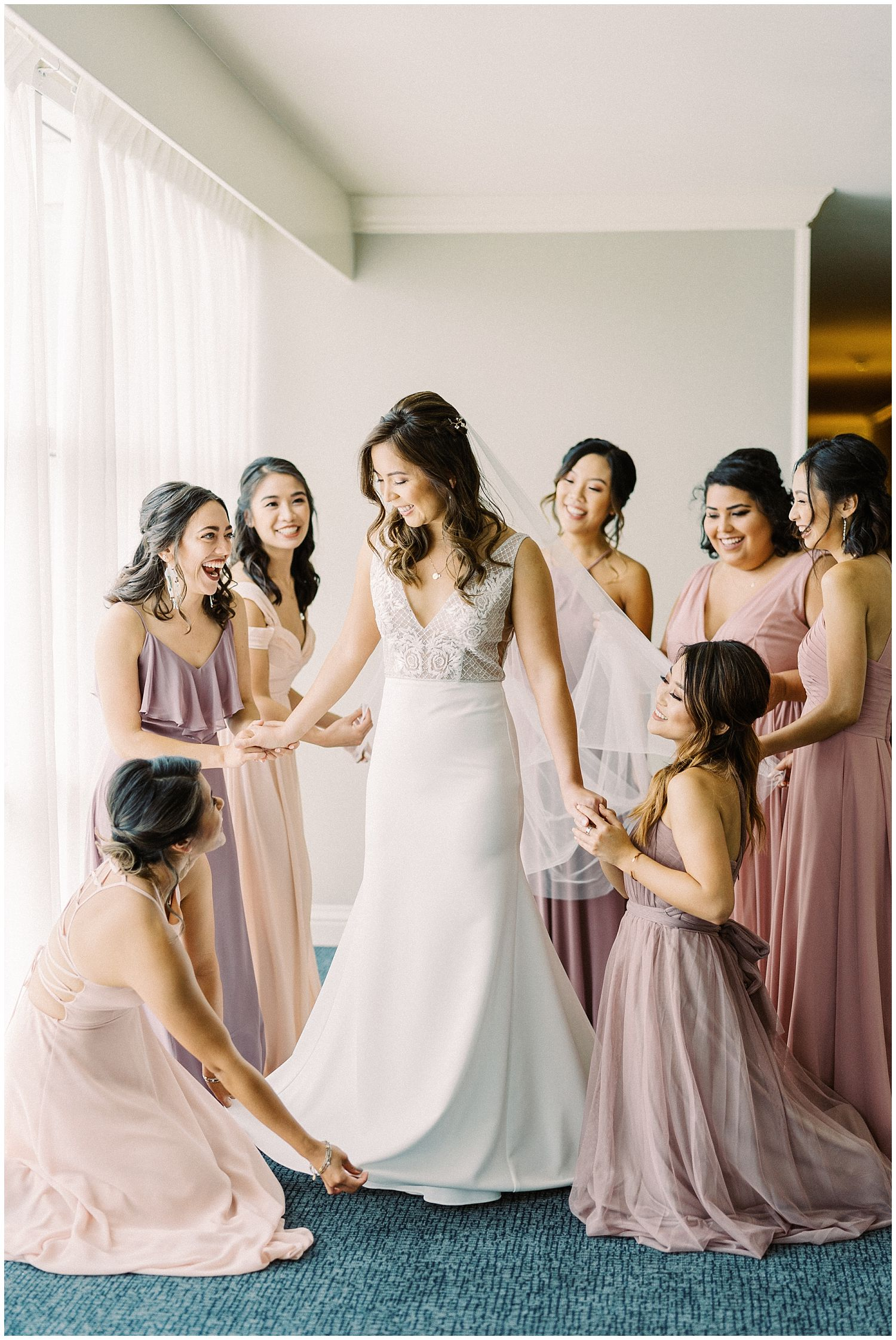 Mountain Terrace Woodside California wedding