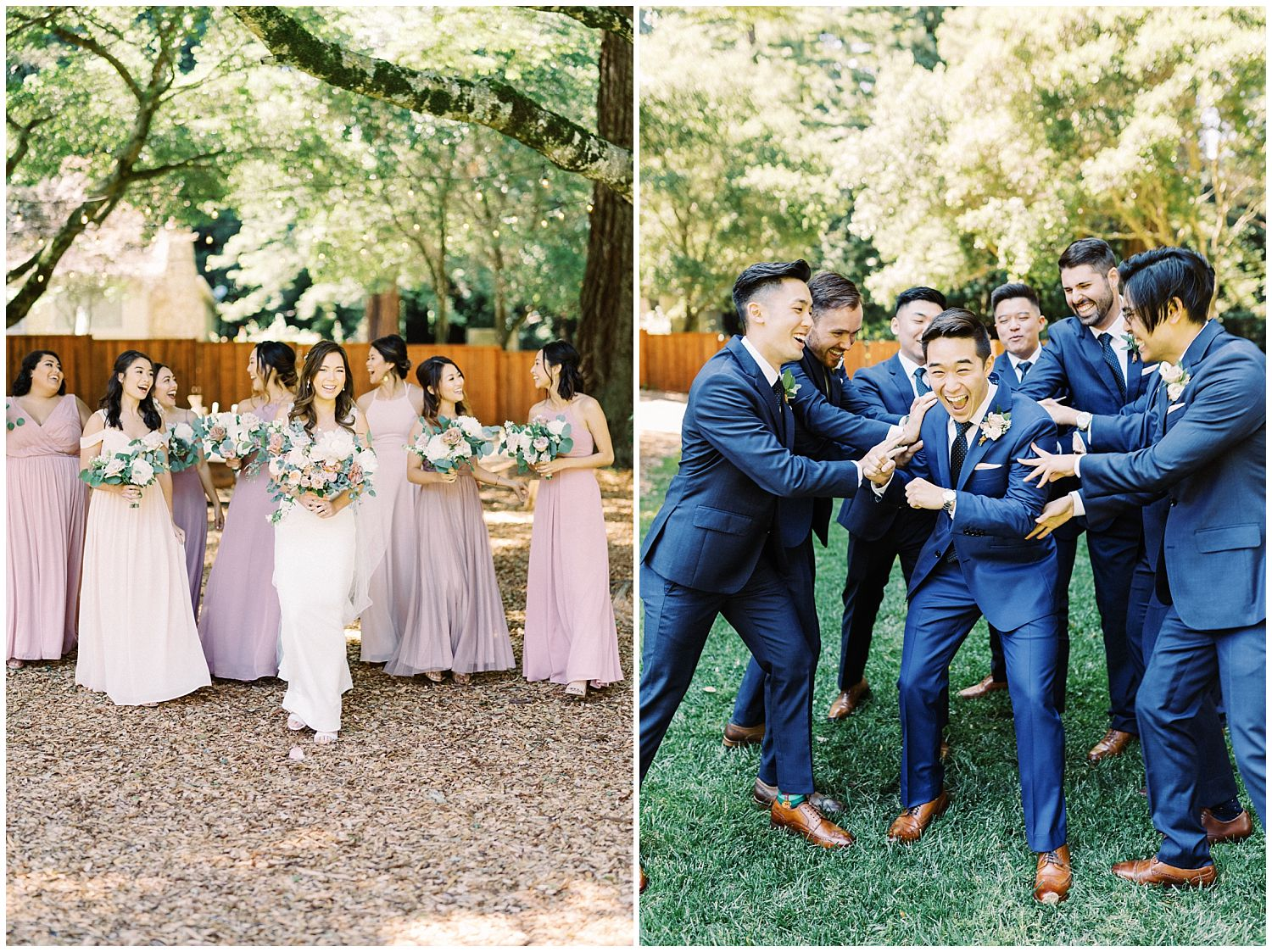 The Mountain Terrace Woodside California wedding photographer
