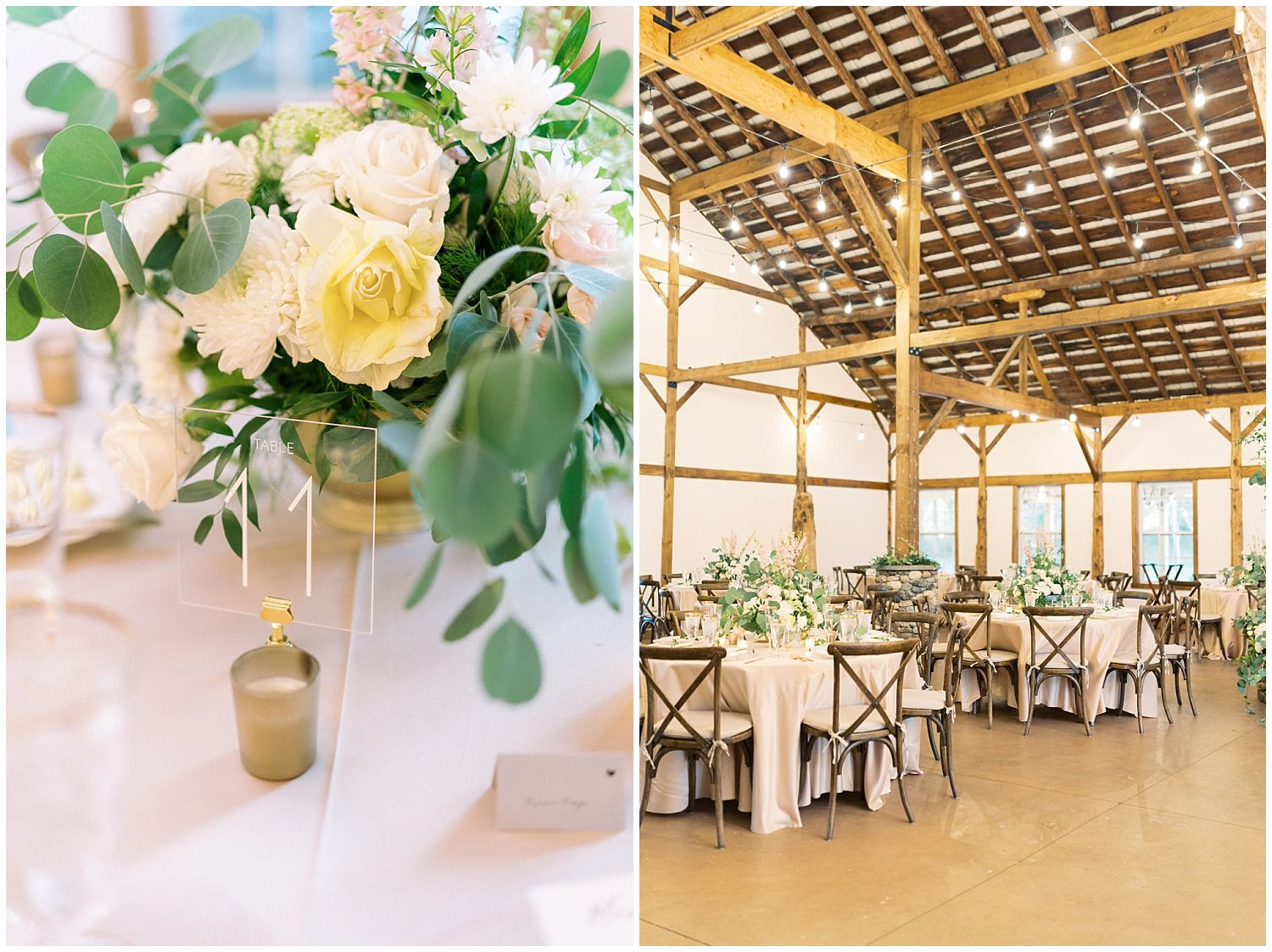 Wedding Reception at Great Marsh Estate stable house