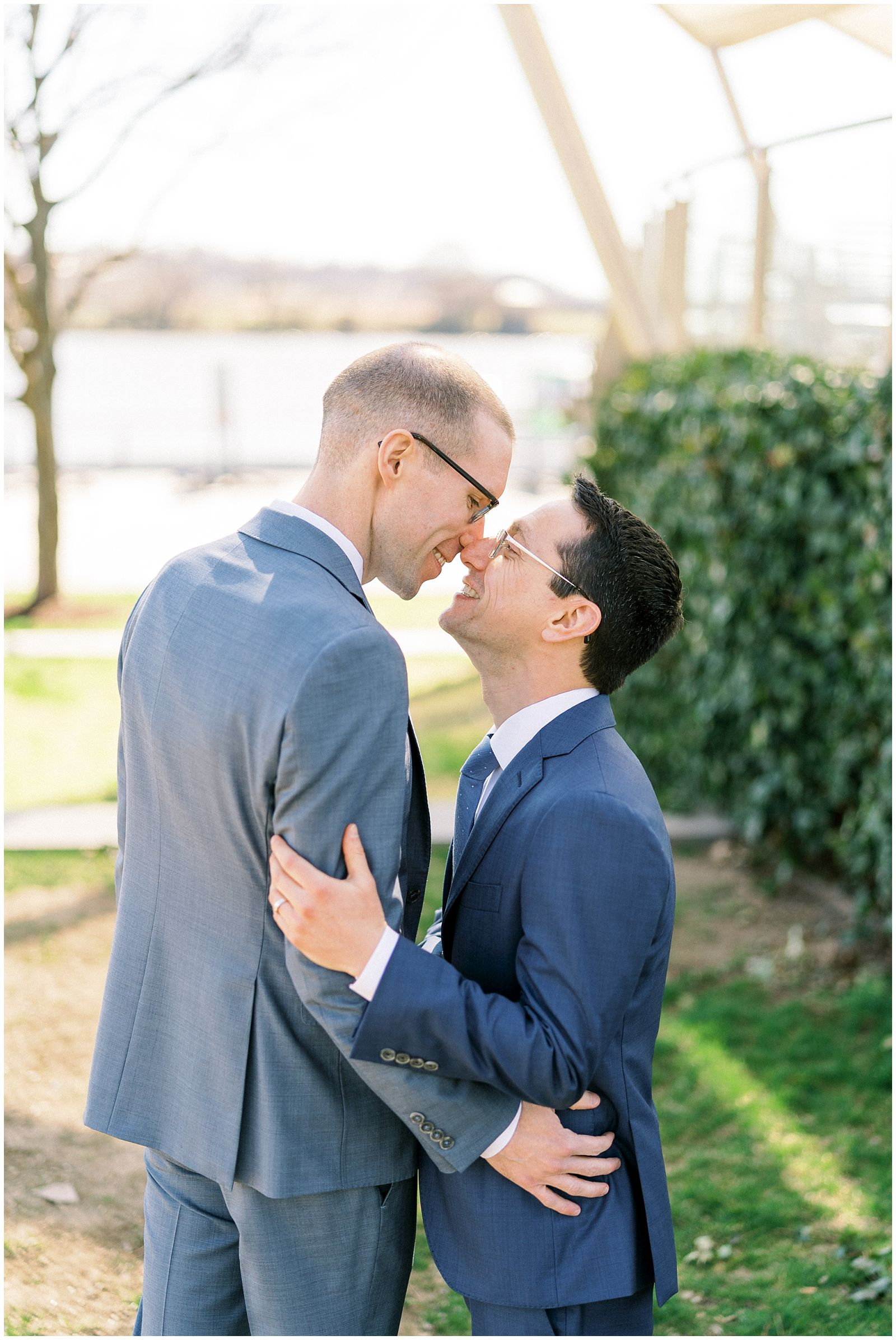 LGBTQ Wedding at District Winery in Washington DC
