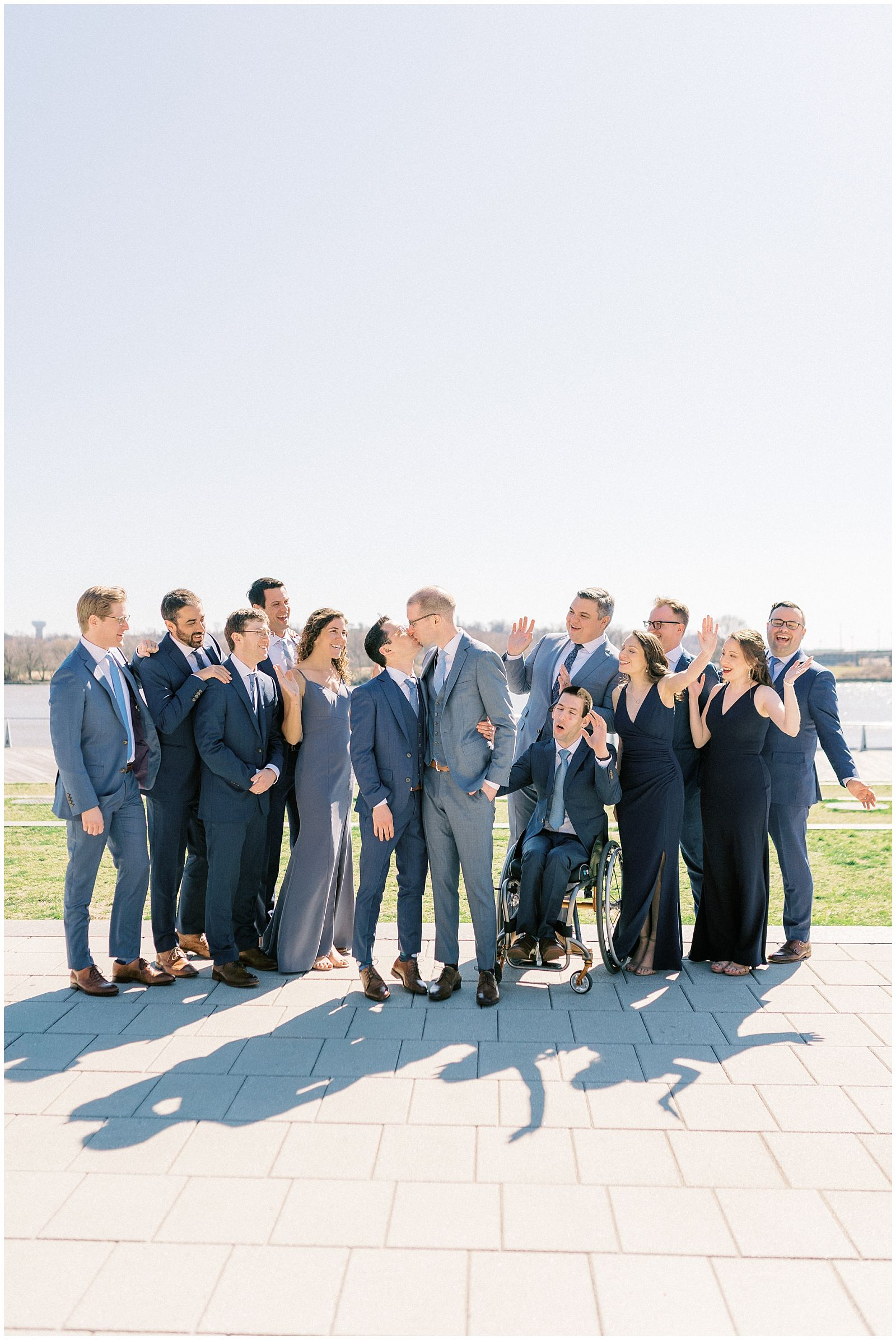 LBGTQ Wedding Party, DC Wharf Wedding