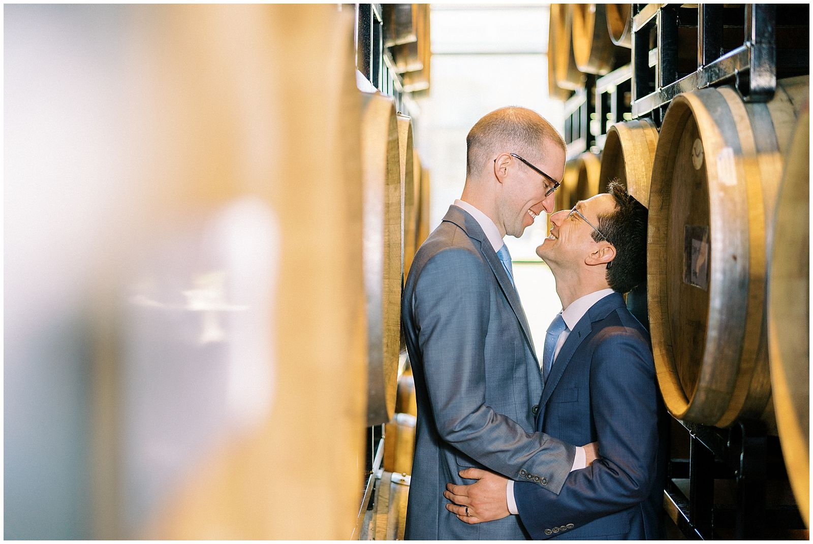 Groom Portraits at District Winery in Washington DC