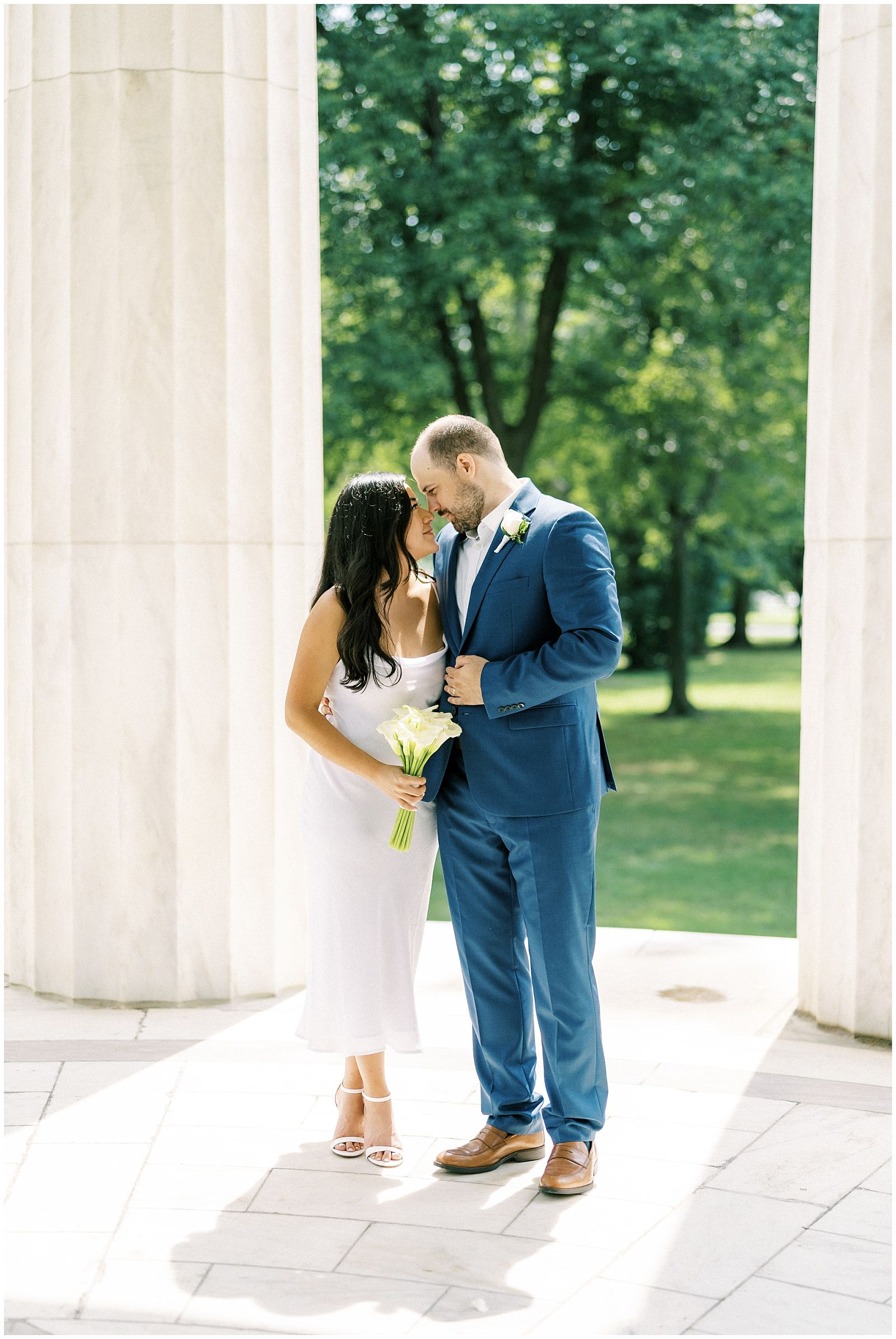 DC War Memorial Wedding Elopement