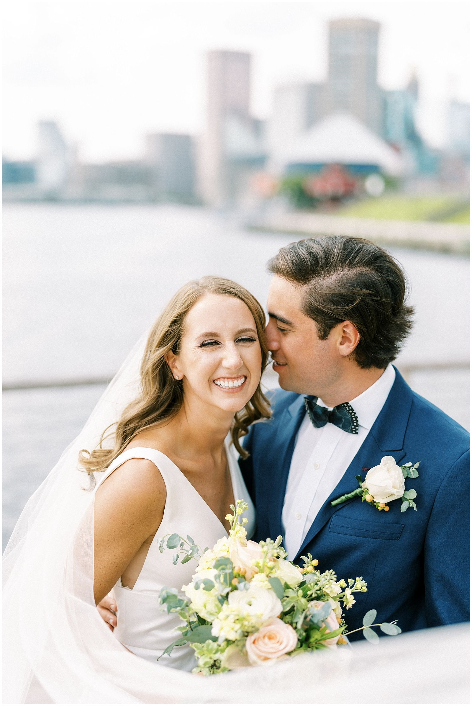 Four Seasons Baltimore wedding first look